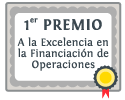 Primer premio a la financiacion de operaciones
